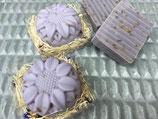 Honigseife mit Lavendel / Saponetta al miele con lavanda