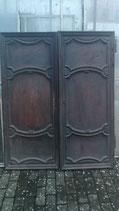 diverse alte antike Holz Schranktüren Vertäfelung Nr 2012