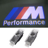 BMW M Performance Logo Türbeleuchtung