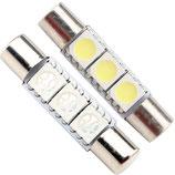 LED Soffitten T6 28mm