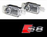 Audi S8 Logo Türbeleuchtung