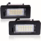 LED-Kennzeichen Beleuchtung BMW E70 E71 E82 E88 E90 E92 E39 E60 X5 X6