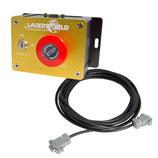 Laserworld Safety Unit mit Key Switch (NOT aus)
