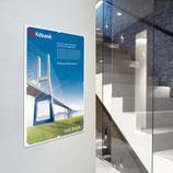 Posterhalter Infos A4 transparent