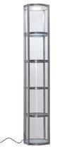 """Pirouet ES58R Hochvitrine 250cm """"rund"""""""