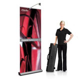Rollup Rolldisplays Expand MediaScreen-3 85x160-220cm