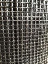 GRILLAGE PLASTIQUE NOIR 6mm x 25 mètres