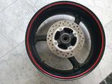SC57 Hinterrad-Felge schwarz/rot