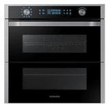 """Samsung NV75N7647RS/EG mit """"Dual Cook Flex"""" - Ein Ofen mit zwei Garräumen"""