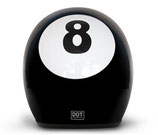 Retro Helmet 8 Ball