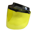 Flip up Visor Yellow