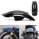 BLACK SUPERIOR REAR MUDGUARD FENDER