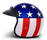 Retro Helmet Captain America