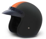 Retro Helmet Orange Pin Stripe