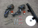FRONT LIGHT KIT BLACK NICKEL ACE 750