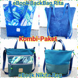 Kombi-Paket BackBag Rita und Nikita Bag
