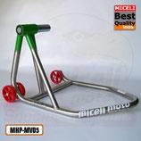 MPH-MV05 -  Cavalletto mono per Ducati / MV-Agusta Ø41 - Inox
