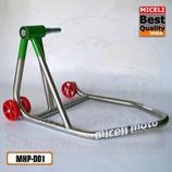 MHP-D01 - Cavalletto mono per Ducati Ø 26 - Inox