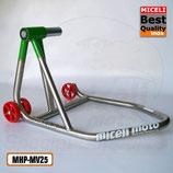 MHP-MV25 - Cavalletto mono per Ducati / MV-Agusta Ø 43 - Inox