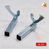 MA-CPV - Coppia cursori a forcella per cavalletto posteriore