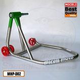 MHP-D02 - Cavalletto mono per Ducati Ø 27 - Inox