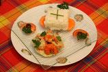 PLATEAU REPAS  / Crevettes créole