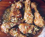 Pilon de poulet créole pièce