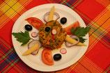 Achard de légumes  portion 350g