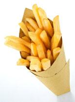 Frites bio portion