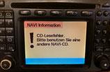 Reparatur Mercedes Comand 2.0 Navi Austausch Laufwerkseinheit