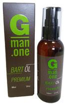 Gman.one - das neue Premium Bartöl im großen 100 ml Fläschchen zum Einführungspreis