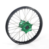 Haan wheels A60 36T black rim/green hub complete  Wheel Kawasaki
