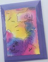 Grußkarte handmade 1