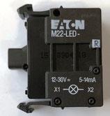 Leuchtmelder, LED-Element Moeller (rot oder weiss) 12-30 V