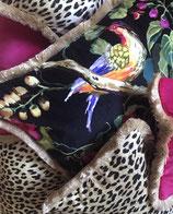 Paradise & Leopard 80cm x 60cm