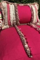 BOHO Sitzkissen 67cm x 67 cm x 22cm - Zweiseitig