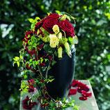 Blumenschmuck aus bunten Blüten für die Urne (andere Meere ab 80,00 €)