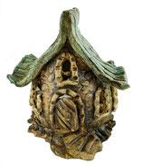 Keramik Windlicht Wichtelhaus