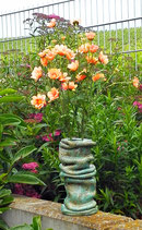 Keramik Blumenvase