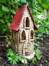 Keramik Windlicht Altes Haus