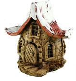 Keramik Windlicht Winterwichtelhaus