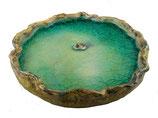 Keramik Vogeltränke Vogelbad Glas