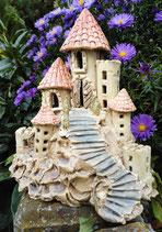 Burg Keramik Windlicht