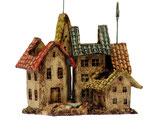 Stiftehalter bunte Häuser