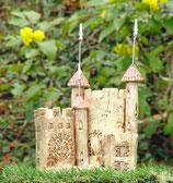 Keramik Stiftehalter Schreibtisch-Organizer Burg