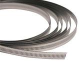 BANDIMEX Endlos Schneckenschraubenband 11mm breit/ V2A Edelstahl Rolle à 30m