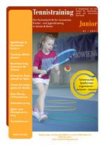 Tennistraining Junior - Ausgabe 1/2021