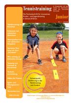 Tennistraining Junior - Ausgabe 1/2020