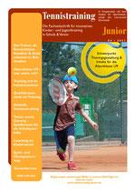 Tennistraining Junior - Ausgabe 4/2021