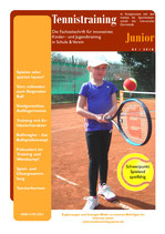 Tennistraining Junior - Ausgabe 3/2018